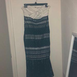 Gianni Bini Strapless Dress / Medium